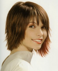 Razor Cut Hairstyles For Girls