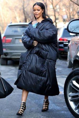 зимний гардероб девушки