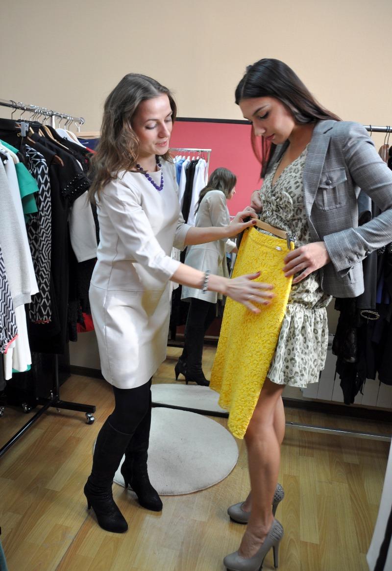 Фото шоппинга со стилистом, Москва