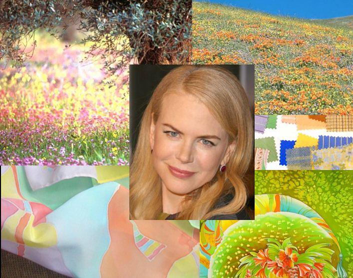 Цветотип весна цвета